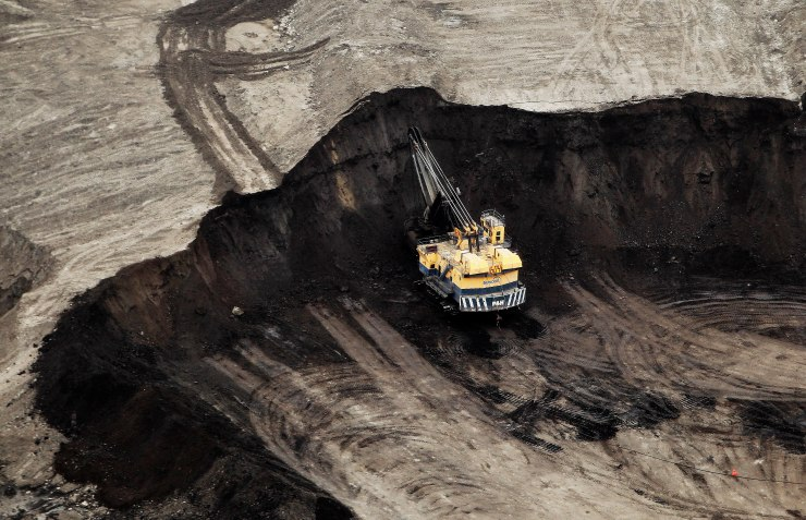 Aerial Views Of The Oil Sands As Heavy Crude Trades Below U.S. Benchmark