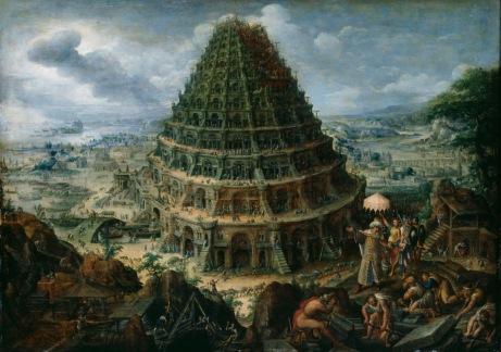 """Marten van Valckenborch, """"der Turmbau zu Babel"""""""